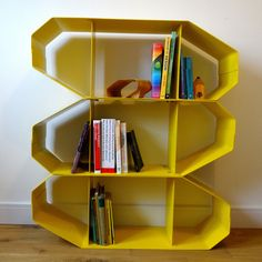 SD2.0 Shelves limited edition Factory Yellow - by Andy Murray Design