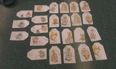 Beatrix Beatrice Potter Scrapbooking Tags 24 pc  Peter by amylaugh, $4.95