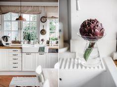 Die Februarküche in sanften Tönen