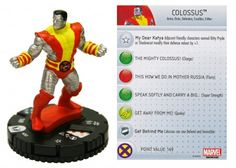 Colossus #202 Wolverine and the X-Men Gravity Feed Marvel Heroclix - Wolverine & the X-Men Gravity Feed - Wolverine and the X-Men - HeroClix...