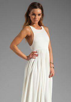 BCBGMAXAZRIA Strapless Maxi Dress in Ebony Blue Combo at Revolve Clothing - Free Shipping!