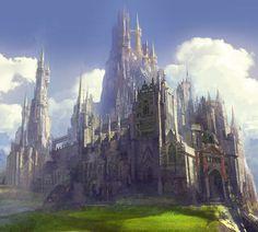 Pin by Dante Zagiel on Anime girls and boys in 2020 Fantasy castle Fantasy city Fantasy art