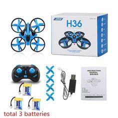 JJRC H36 Mini Drone Quadcopter Headless Mode One Key Return VS JJRC H8 Mini H20 Drone