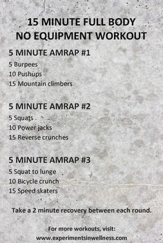 HIIT training can be hard and laborious, especially for newbies who are not yet ready to use their body's maximum potential throughout their workout sessions. Amrap Workout, Tabata Workouts, At Home Workouts, Boxing Workout, Mini Workouts, Outdoor Workouts, Workout Plans, 15 Minute Hiit Workout, Kids Workout