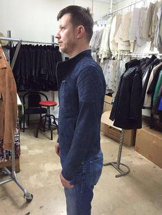 Metis goat skin Suede biker jacket model name decent chief