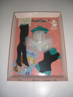 VINTAGE BARBIE #989 BALLERINA-COMPLETE-NRFB-MIB-MINT in Dolls & Bears, Dolls, Barbie Vintage (Pre-1973) | eBay