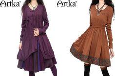 Платья Артка в романтическом стиле