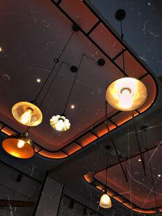 #social1 #restaurantdesign #restaurantinterior #lights