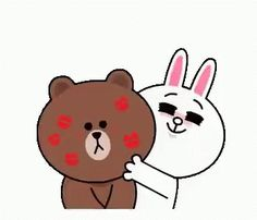 The perfect Cony Brown ConyAndBrown Animated GIF for your conversation. Discover and Share the best GIFs on Tenor. Cartoon Kiss Gif, Kiss Animated Gif, Hug Gif, Animiertes Gif, Cartoon Gifs, Cute Kiss, Cute Love Gif, Bisous Gif, Gif Bonito