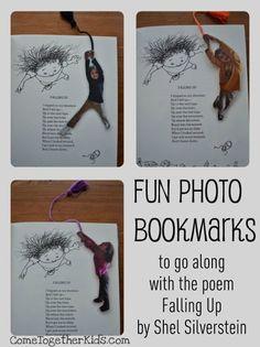 para hacer puntos de libro divertidos con las fotos de los más pequeños.