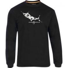 Men's Jolly Roger L/S UV Fishing T-Shirt