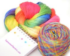 Chandi has the most gorgeous hand dyed yarns in the world! Enter her contest you might win and could try her yarns!