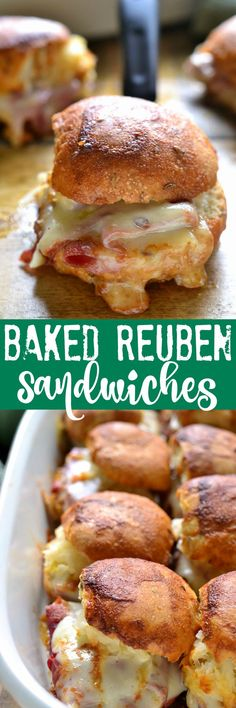 These Baked Reuben S
