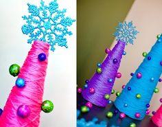 Addobbi natalizi fai da te con il riciclo (Foto) | Tempo libero pourfemme