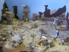 Science: Desert Ecosystem Diorama