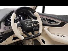 2017 Audi SQ7 Custom Interior - YouTube
