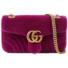 Gucci Bags (76.080 RUB) ❤ liked on Polyvore featuring bags, handbags, purple purse, purple handbags, gucci bags, gucci and gucci handbags