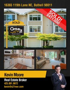 #SOLD  Congratulations Kevin Merritt Moore and to the new owners of sunny 2 bed/2.5 bath Townhome in the renowned Cambridge community.  MLS # 1168985