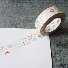 MT colorful pop washi tape