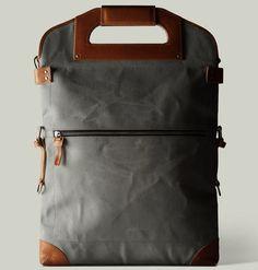 Hard Graft 2unfold Laptop Bag ($550/now).