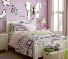 Butterfly mirrors for girls rooms