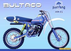 Enduro Vintage, Vintage Motocross, Vintage Bikes, Vintage Motorcycles, Bultaco Motorcycles, Honda Scrambler, Motorbikes, Yamaha, Dirt Motorcycles