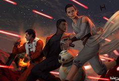 The Force Awakens by MeTaa.deviantart.com on @DeviantArt