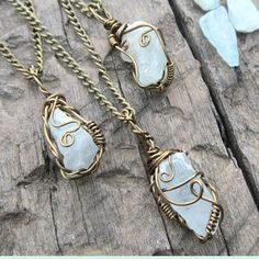 Genuine Raw Aquamarine necklaces each wire wrapped uniquely to each stone  Available in my etsy shop. Link in my bio  #crystallove #crystal #crystals #gems #gemstones #protection #aquamarine #layered #naturelovers #birthstone #wired #boho #bohemian #grunge #ooak #wirewrapped #crystaljewelry #gypsysoul #bohofashion #energy #giftideas #nature #wrapped #happy #perfectgift #goodvibes #crystalnecklace #necklaces #necklace #hipster