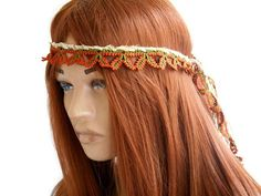 fc97b69efcf Items similar to Crochet hair band