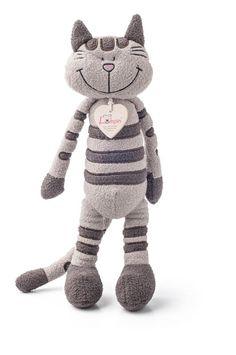 Exclusieve Knuffel van het merk LumpinLumpin, your friend with the big plushy heart knuffel is 36 cm Plushies, Teddy Bear, Toys, Animals, Cat, Activity Toys, Animales, Animaux, Cat Breeds