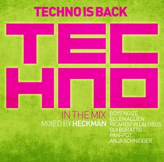 Techno in the Mix - Techno is Back - Various Artists (ZYX) EAN: 0090204636969
