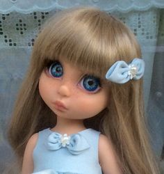 Disney animators doll art custom ooak Rapunzel by enixe atelier Disney Animator Doll, Disney Dolls, Doll Wigs, Ooak Dolls, Rapunzel, Baby Doll Set, Doll Repaint, Animation, Watercolor