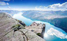 Top Things to Do in Norway - What to See in Norway Cliff Preikestolen at fjord Lysefjord - Norway - nature and travel background Stavanger, Trondheim, Tromso, Grand Tour, Norway Nature, Cruise Pictures, Us Destinations, Alesund, See The Northern Lights