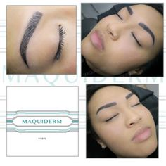 Photos de maquillage permanent - maquillage permanent Paris Paris 14, Photos, Permanent Makeup, Before After, Eyebrows, Pictures