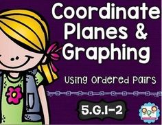 Coordinate Planes and Graphing Math Tasks and Exit Tickets - Your 5th graders are going to be geometry experts with this 26 page resource at your fingertips! With purchase you receive 5 math tasks for cooperative learning, 7 exit tickets for individual assessment, and I can statements. Click through to see how your fifth grade classroom or homeschool students can benefit from this resource! {Great for CCSS and those who do not follow Common Core as well!} $