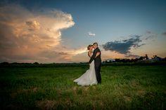 Brookside Gardens Event Center Wedding Sunset Butt Grab