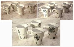 My DIY mugs ...:)