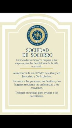Sociedad de socorro Class Planner, Relief Society Activities, Towel Crafts, Visiting Teaching, Lds Church, Spanish, Projects To Try, Organization, Relief Society