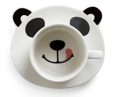 Panda Smile on Your Face Mug Set from ModCloth