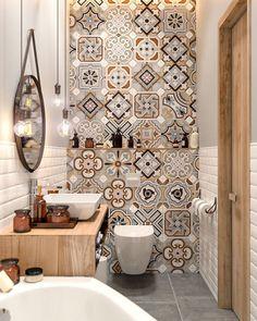 Small Master Bathroom Decor on a Budget https://www.onechitecture.com/2018/01/19/small-master-bathroom-decor-budget/ #BathroomToilets