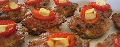 Greek Meat Surprise Snacks   TheCreativeCaveman