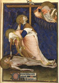 Lamentation of the Virgin (also known as the Hours of the Cross) Rohan Master - 1435