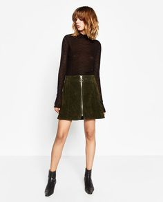 ZARA - WOMAN - LACE SWEATER