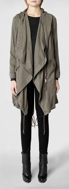 Love this All Saints Portere Parka Jacket $515 CAD @ http://www.ca.allsaints.com/women/coats/allsaints-portere-parka-jacket/?colour=16&category=117