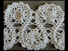 Crochet : Punto Entrelazado # 7. Parte 1 de 2 - YouTube