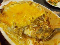 Chicken lasagne via www.myfoodlove.com Chicken Lasagne, Lasagna, Ethnic Recipes, Food, Lasagne, White Chicken Lasagna, Chicken Lasagna, Meals, Yemek