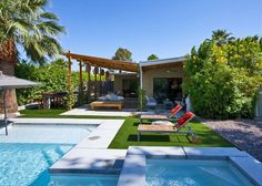 Palm Springs House Rental: Atomic Ranch Heaven