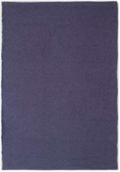 Solid Purple Flatweave Eco Cotton Rug - Hook & Loom
