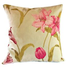 Vintage 1980s Crowson fabric reversible cushion cover with zip fastening £9.95