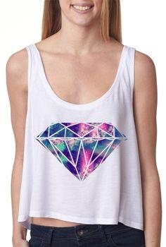 Galaxy Crop top i need this!!!